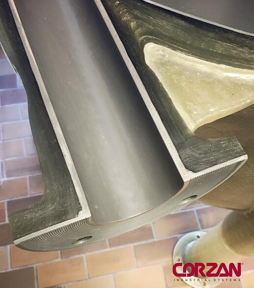 Corzan CPVC Dual Laminate Tank