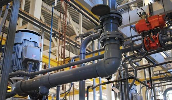 chlor alkali plant cpvc piping