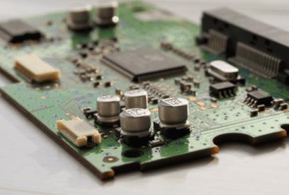 microchip at a semiconductor plant using Corzan CPVC