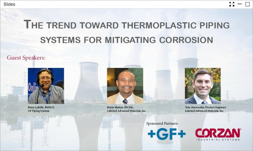 Thermoplastics Webinar