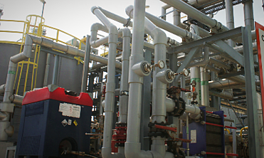 Chlor Alkali plant with CPVC piping