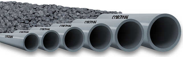 Corzan CPVC piping and compound