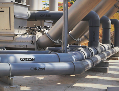corzan industrial piping system