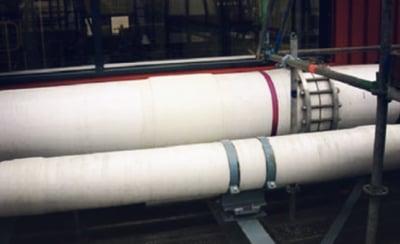 frp cpvc dual laminate wet chlorine headers