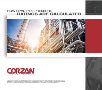How CPVC Pipe Pressure Ratings Are Calculated White Paper Cover