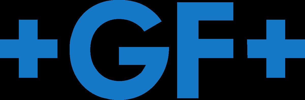 Georg Fischer Harvel +GF+ Logo