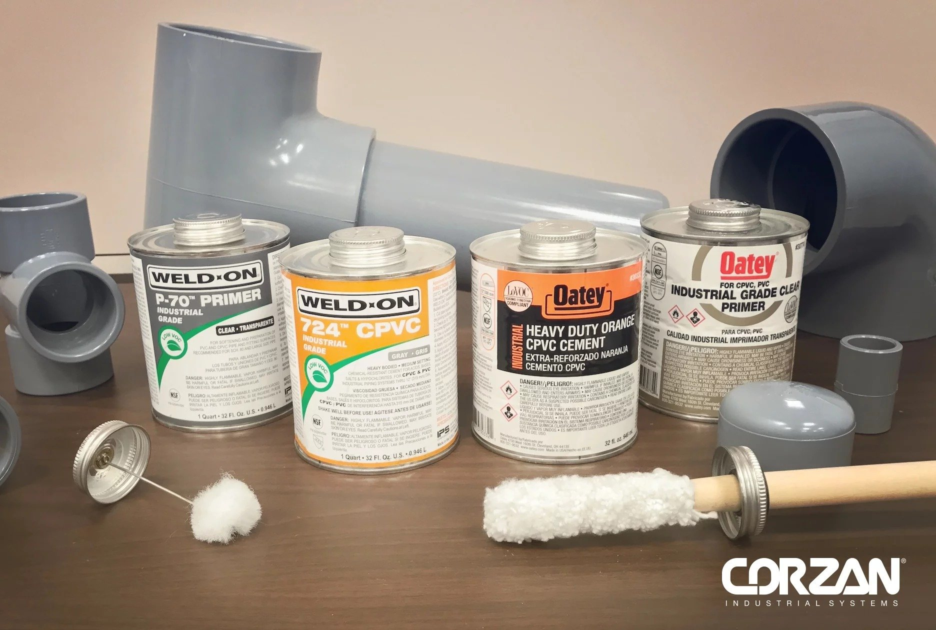 WHAT IS SOLVENT CEMENT AND WHY IS IT USED FOR CPVC PIPING SYSTEMS?