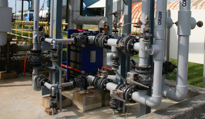 CPVC Shaves Installation Time for Wastewater Treatment Plants