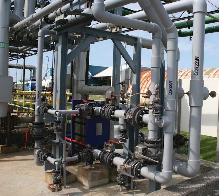 Como selecionar tubulação industrial adequada para Plantas alcalinas de cloro
